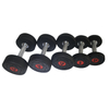 High Quality Gym Round Head Pubber Dumbbell DB-R-304 -Vigor