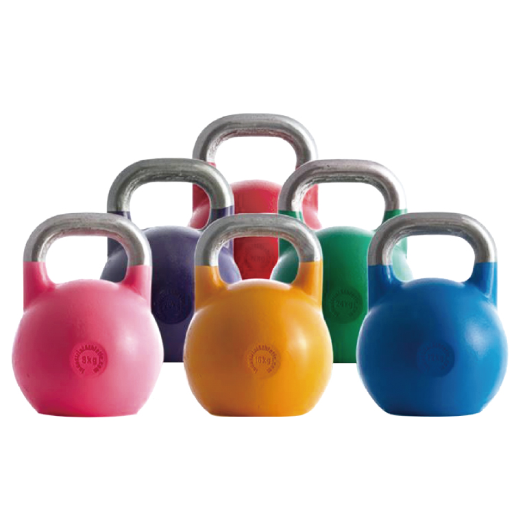 Hot Sale Steel Kettlebell With Stainless Handle KB-S-202B -Vigor
