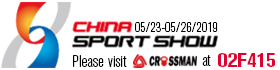 WELCOME TO VISIT US AT CHINA SPORT SHOW