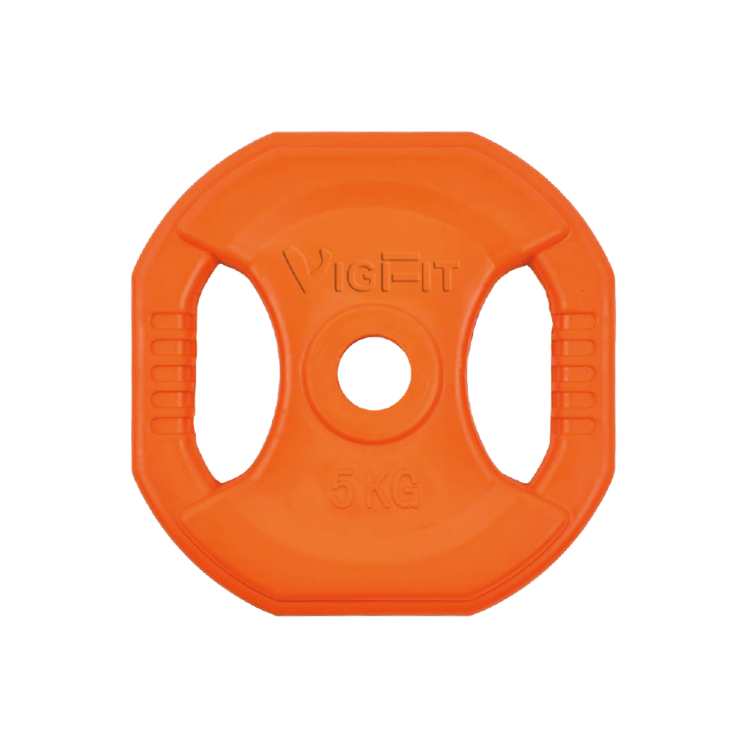 China Vigor Square Colorful Rubber Handle Plate PL-R-302