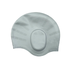 High Quality Silicone Swimming Cap with Ear Cover SC-005 -Vigor