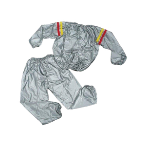 Hot Sale Trusted Silvery PVC Sauna Suit SS-001 -Vigor