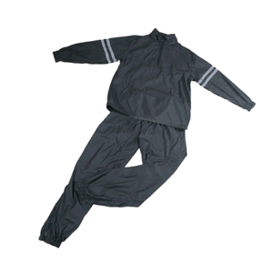 Wholesale Trusted Black PU Sauna Suit SS-004 -Vigor