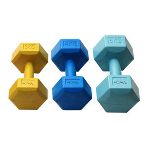 Hexaron Cement Dumbbell